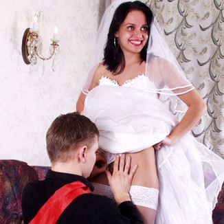 Sex With Hot Teen Bride