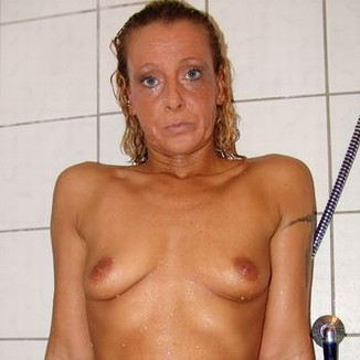 Bettina Taking Shower