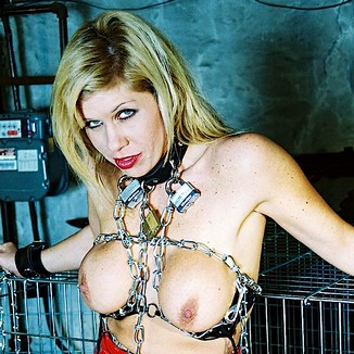 Caged Blonde