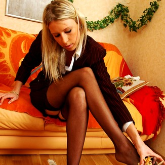Nylon Pantyhose Keegan