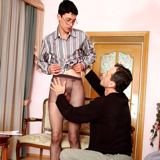 Gay Pantyhose Matthew Adrian