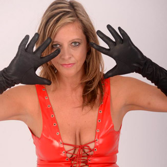 Ladies In Leather Gloves